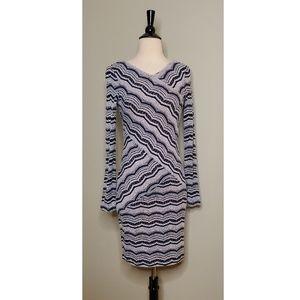 BCBGMaxAzria Knit Long Sleeve Dress